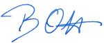 Unterschrift Berthold Ott