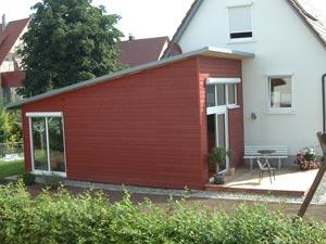 Anbau Haus Modul. Finest Anbau Mit With Anbau An Bestehendes Haus ...